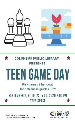 Teen Game Day