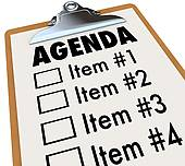 Board Meeting Agendas